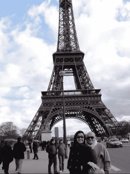Veruska e Ricardo Boechat em Paris - Reprodução/Instagram