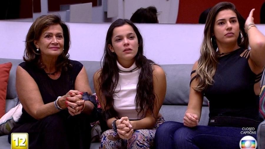 """Leifert anuncia que Ieda, Emilly e Vivian são as finalistas do """"BBB17"""" - Reprodução/TV Globo"""