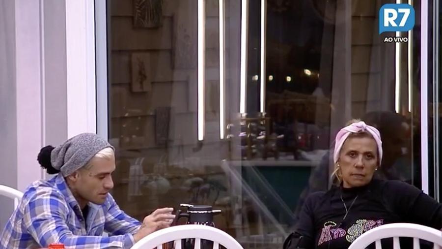 Rita Cadillac confessa que não gostava de Yuri Fernandes - Reprodução/R7