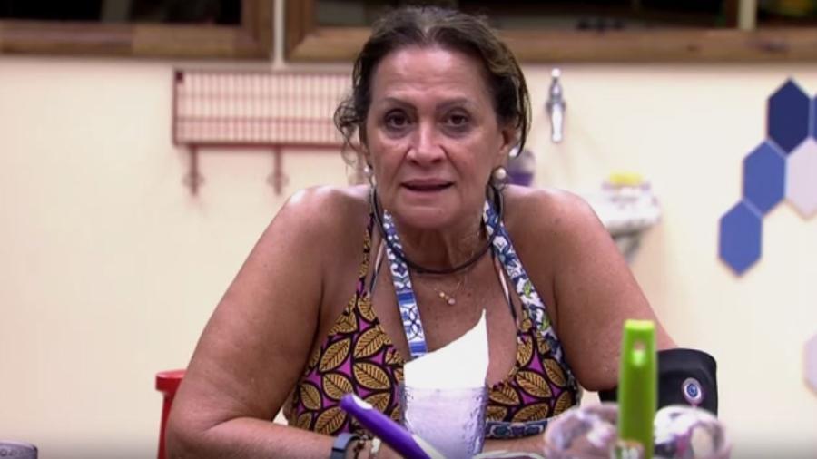 """Ieda diz que era """"magérrima"""" mais jovem - Reprodução/TV Globo"""