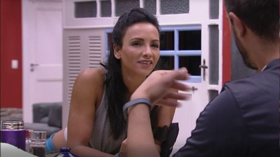 Marinalva e Daniel conversam sobre prova do anjo - Reprodução/TVGlobo