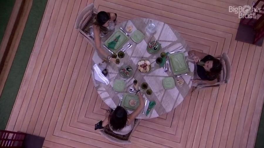 Finalistas ganham almoço especial - Reprodução/TV Globo