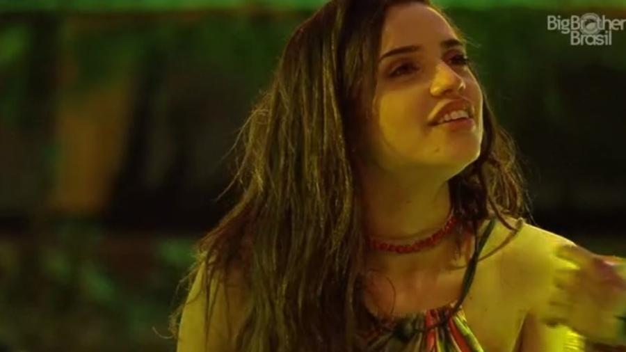 Paula conversa com Nayara sobre Breno  - Reprodução/Tv Globo