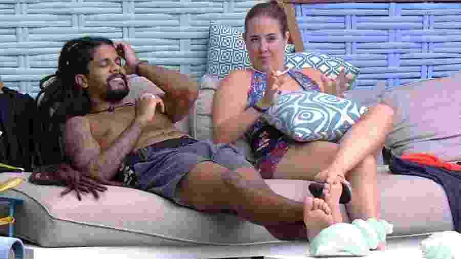 Patrícia fala sobre relacionamento com Kaysar para os brothers - Reprodução/GloboPlay
