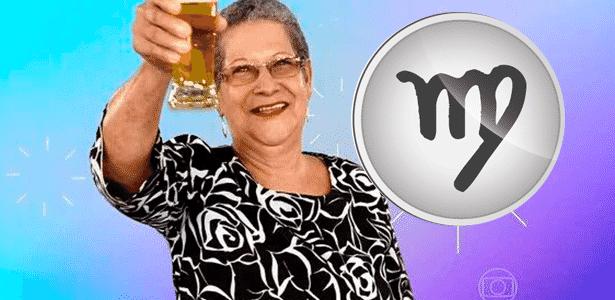 Diva Signos - Geralda/Virgem - Reprodução/TV Globo e Montagem/Diva Depressão - Reprodução/TV Globo e Montagem/Diva Depressão