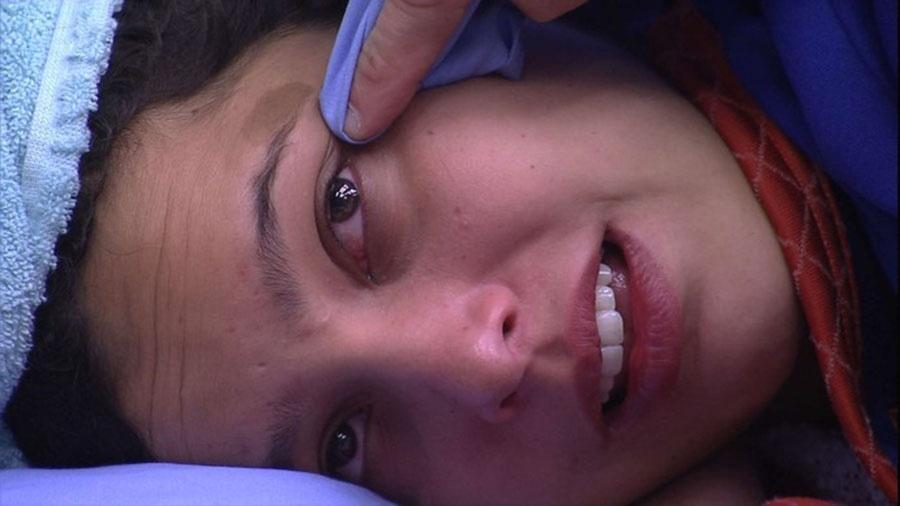 """Emilly chora e se defende: """"Não sou egoísta"""" - Reprodução/TVGlobo"""