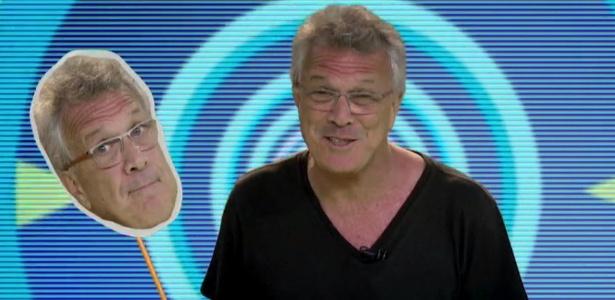 """Pedro Bial em chamada da nova edição do """"Big Brother Brasil"""" - Reprodução/TV Globo"""