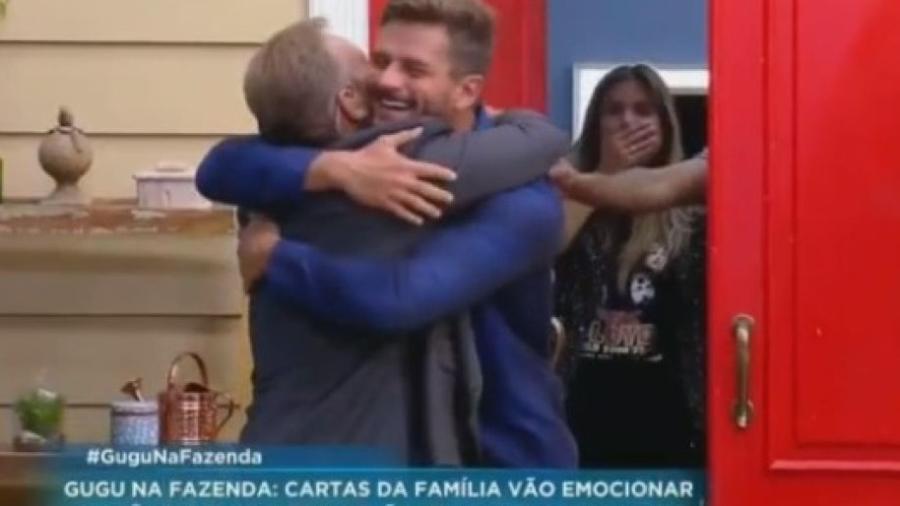 """Marcos encontra Gugu em """"A Fazenda: Nova Chance"""" - Reprodução/R7"""