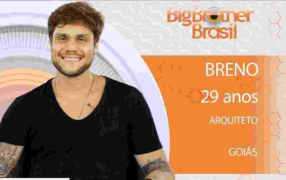 """Breno, um dos participantes do """"BBB18"""" - Reprodução/Gshow"""