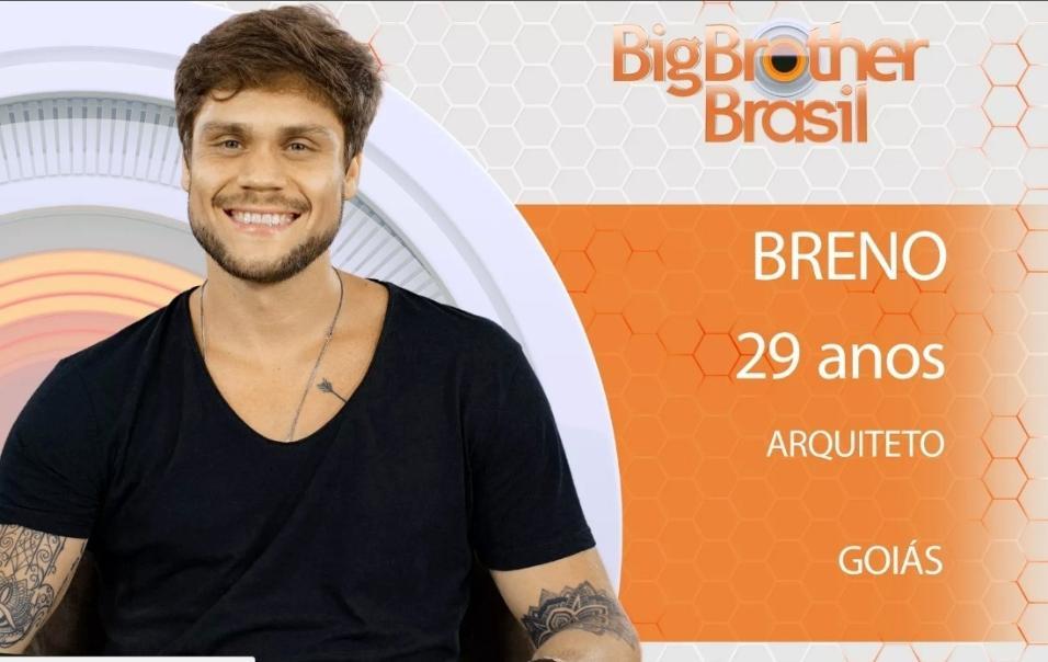 """Breno, um dos participantes do """"BBB18"""""""
