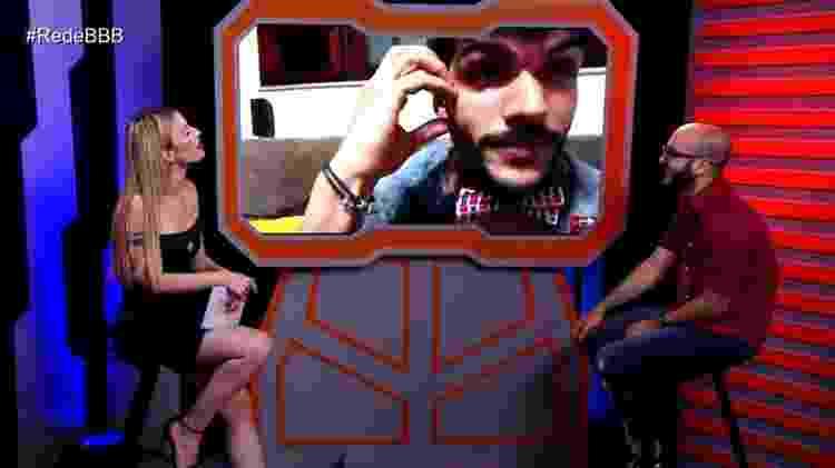 Mahmoud e Lucas - Reprodução/Gshow - Reprodução/Gshow