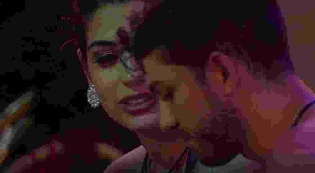 Luiz Felipe diz a Vivian que não para de pensar em Mayla - Reprodução/TVGlobo