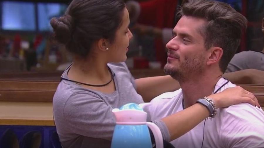 Emilly e Marcos: apostando em final juntos - Reprodução/TVGlobo