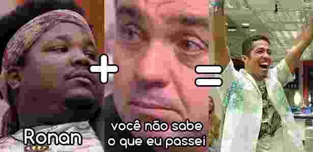 Diva campeões ronan - Reprodução/TV Globo e Montagem/Diva Depressão - Reprodução/TV Globo e Montagem/Diva Depressão