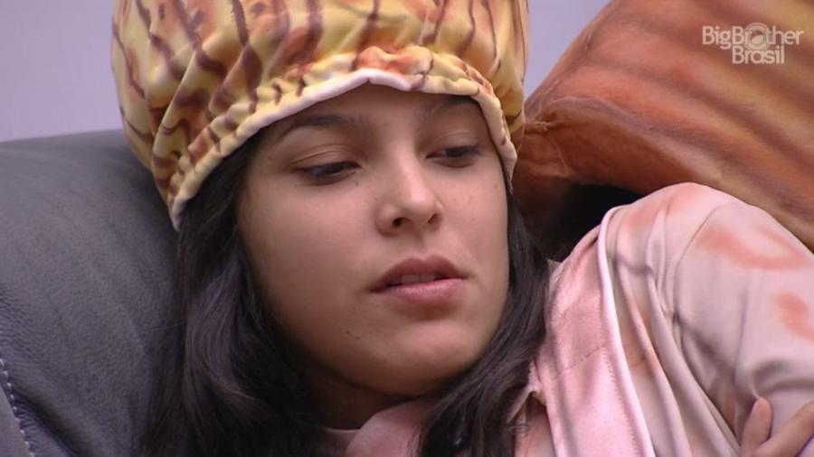 """Emilly se compara a Ana Paula do """"BBB16"""" - Reprodução/TV Globo"""