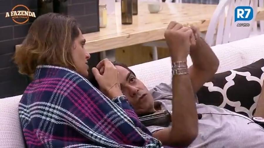 Aritana e Fábio Arruda falam sobre Rita Cadillac - Reprodução/R7