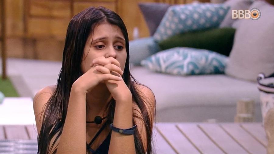 Ana Paula ironiza Jéssica e Lucas no quarto do líder - Reprodução/Globoplay