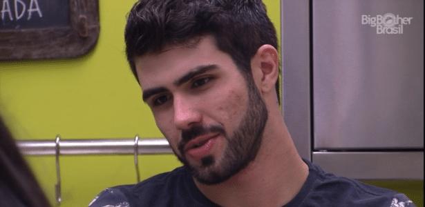 O ator Juliano Laham catapultou sentimentos e desconfianças dos habitantes da casa - Reprodução/TV Globo
