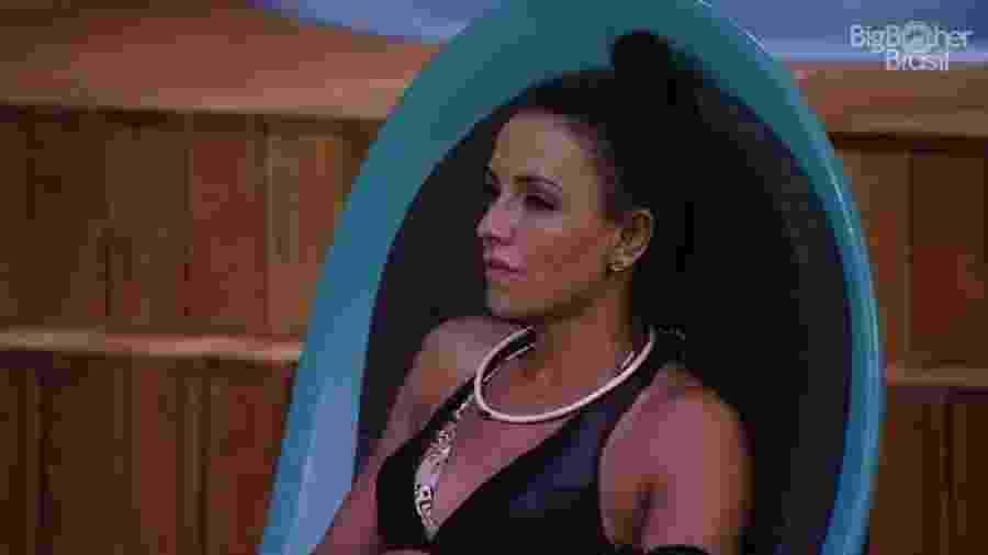 """Marinalva mentiu e afirmou que Emilly saiu do """"BBB17"""" - Reprodução/TV Globo"""