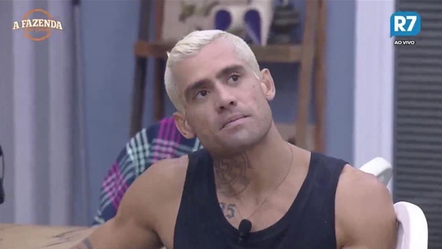 Yuri Fernandes diz que Marcos Harter é uma pessoa complicada - Reprodução/R7