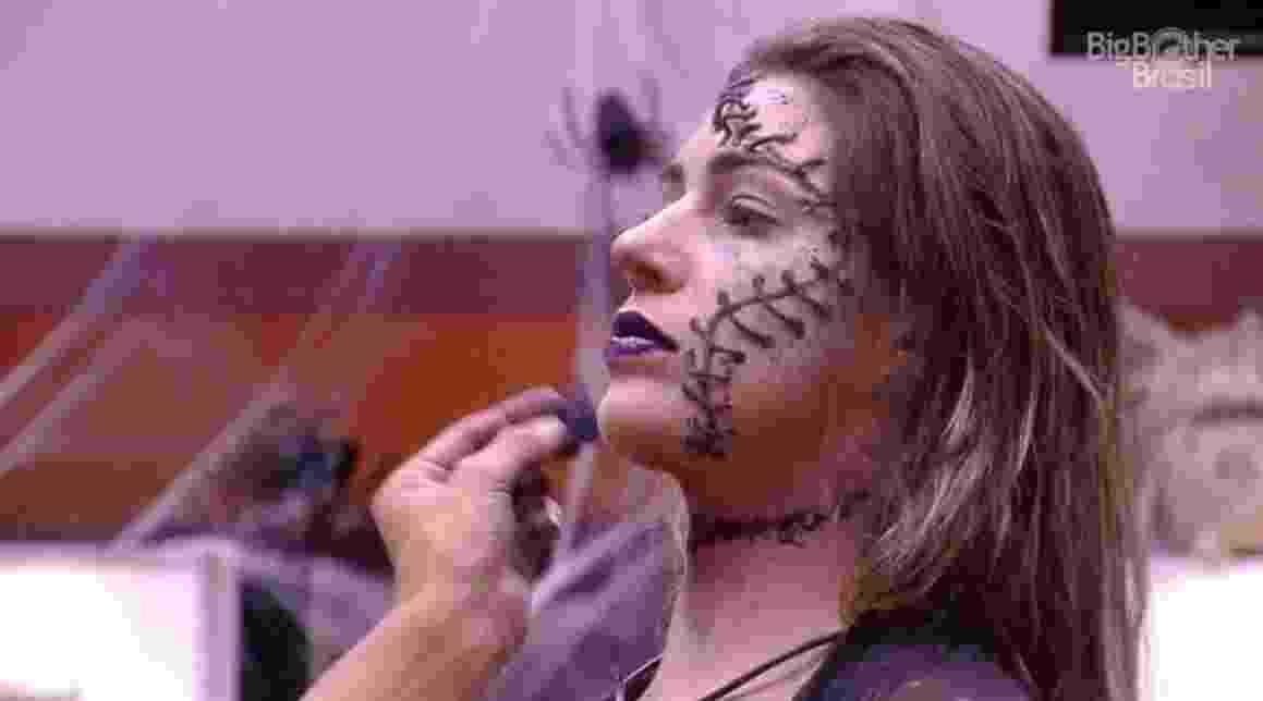 Brothers ganham maquiagem especial para curtirem Festa Zumbi - Reprodução/TVGlobo