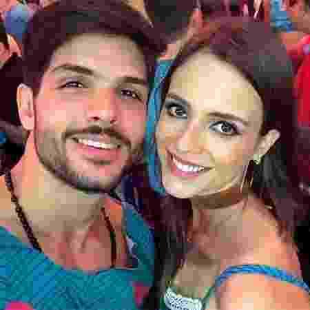 Lucas com a noiva Ana Lúcia - Reprodução/Instagram