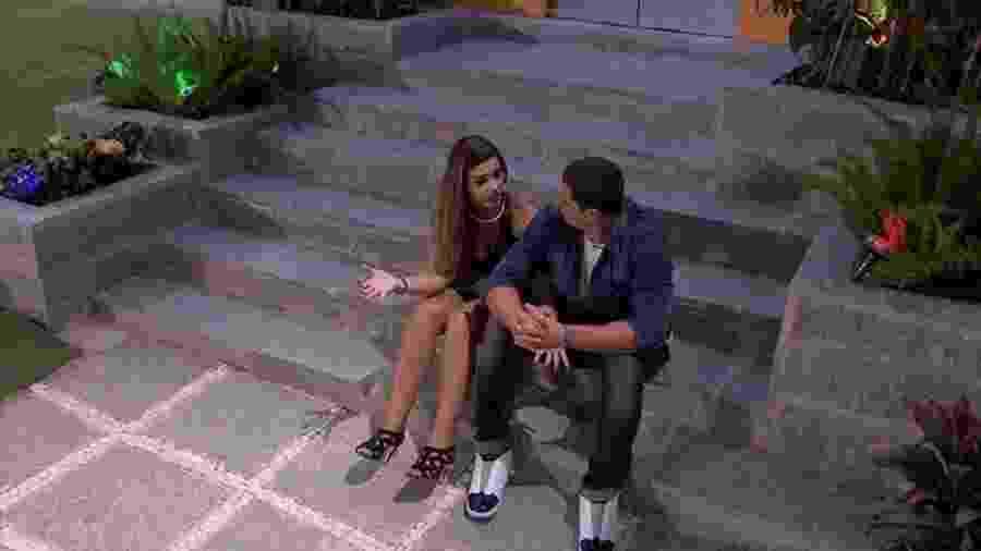 Daniel e Vivian conversam sobre Manoel - Reprodução/Gshow