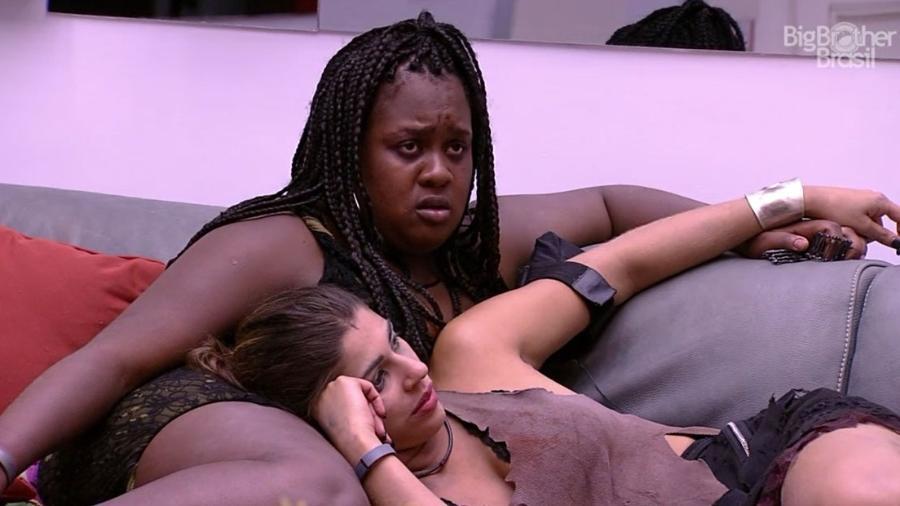 Roberta fala sobre medo de ir ao paredão - Reprodução/TV Globo