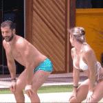 Jéssica e Kaysar dançam Vai Malandra na piscina - Reprodução/Globosatplay