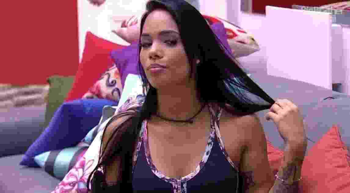 """01.jan.2017 - Mayara, participante do""""BBB17"""" - Reprodução/Tv Globo"""