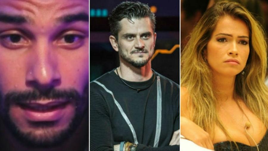 Daniel, Marcos e Fani: ex-participantes que deixaram a Globo de cabelo em pé - Divulgação/Globo/Fotomontagem/UOL
