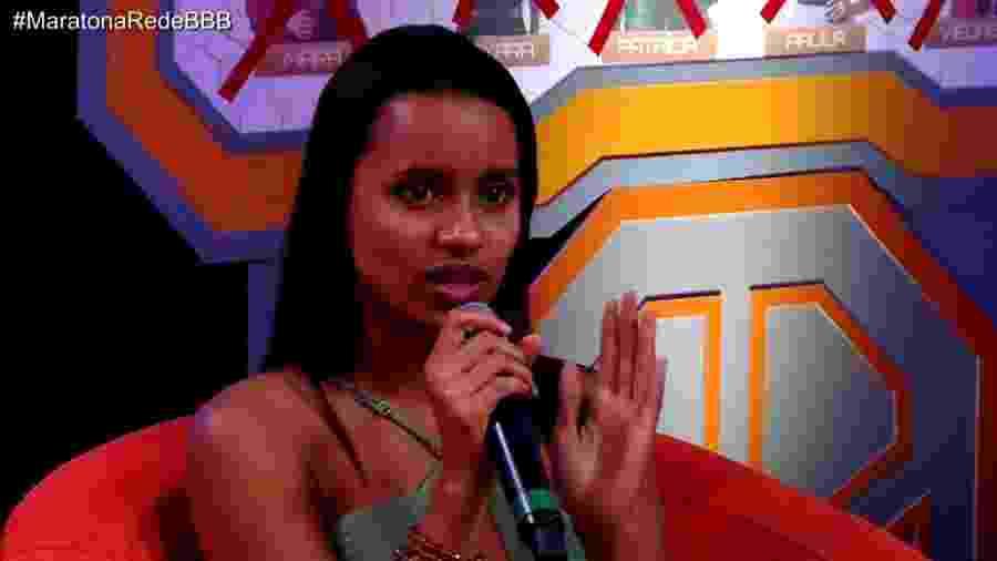 Gleici diz que não será amiga de Patrícia - Reprodução/GloboPlay