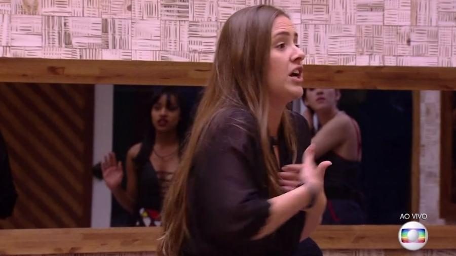 Patrícia se revolta com Gleici - Reprodução/Globoplay