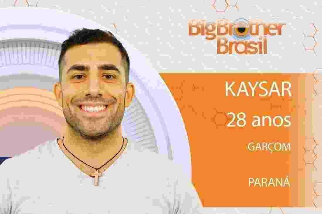 """Kayser, participante do """"BBB18"""" - Reprodução/Gshow"""