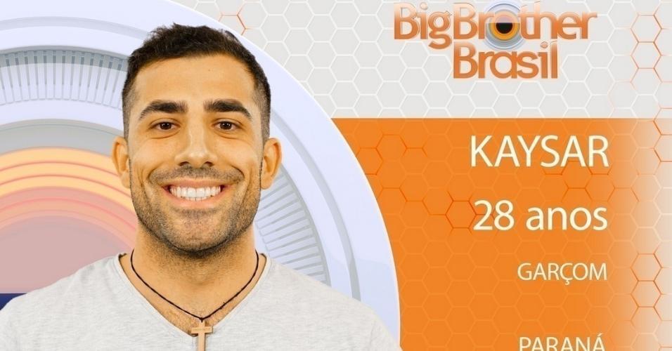 """Kayser, participante do """"BBB18"""""""