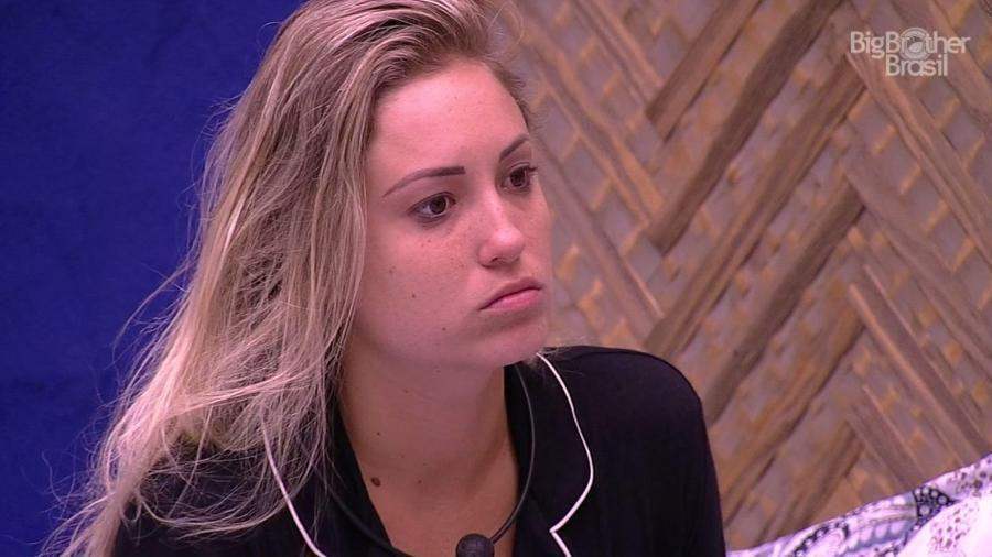Jéssica ensaia discurso de voto com Paula  - Reprodução/GloboPlay