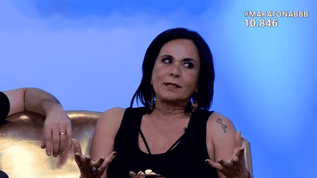 6.abr.2016 - Harumi saiu em defesa de Ana Paula e afirmou que diria todas as coisas que a sister disse, mas de outra forma - Reprodução/ TV Globo