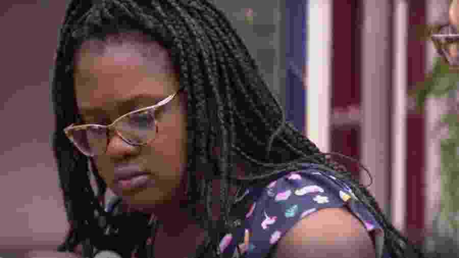 Roberta não acredita ser uma competidora forte - Reprodução/TVGlobo