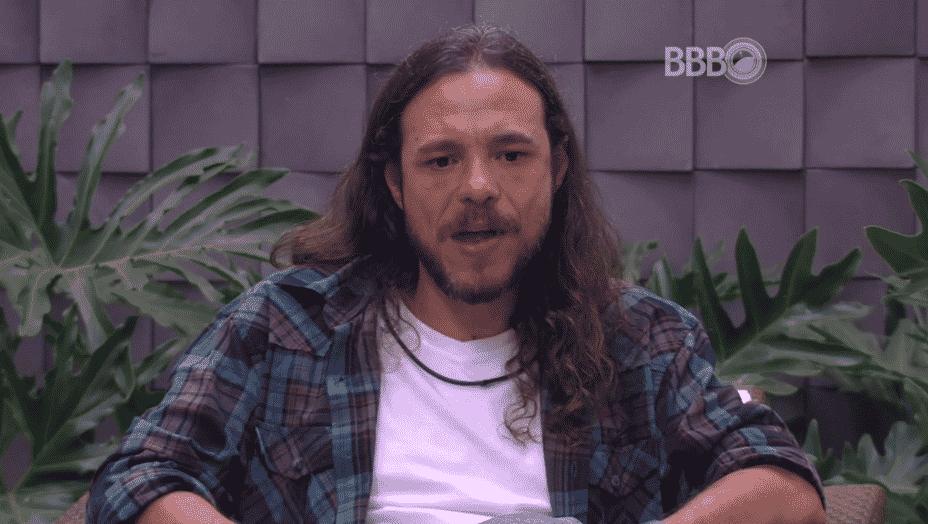 """17.fev.2016 - """"Não estou entendendo mais nada"""", diz Tamiel sobre a eliminação de Daniel no """"BBB16"""" - Reprodução/TV Globo"""