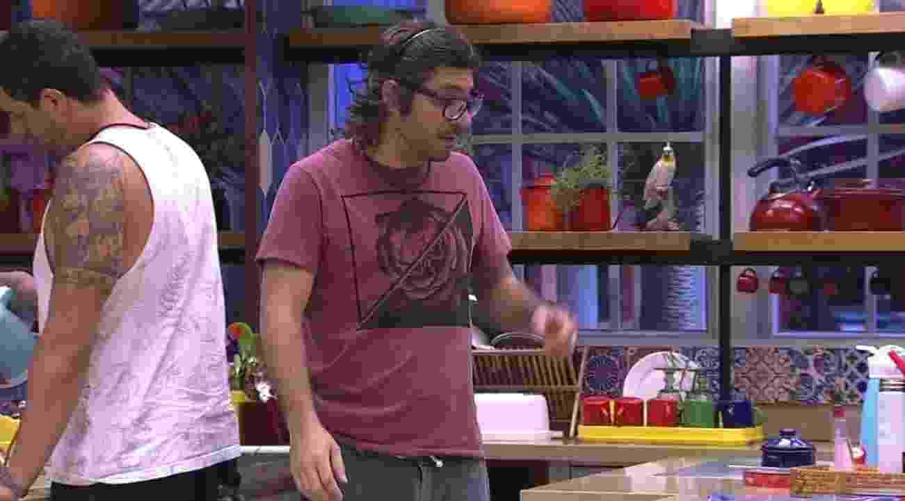 Ilmar lembra provocação feita a Emilly durante a festa Rio Grande do Sul - Reprodução/TVGlobo