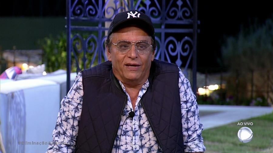"""Nahim aguarda o resultado da quinta roça de """"A Fazenda 9"""" - Reprodução/Record"""