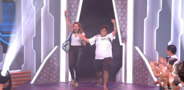 """Eva e Jorge deixam o """"BBB18"""" após votação"""