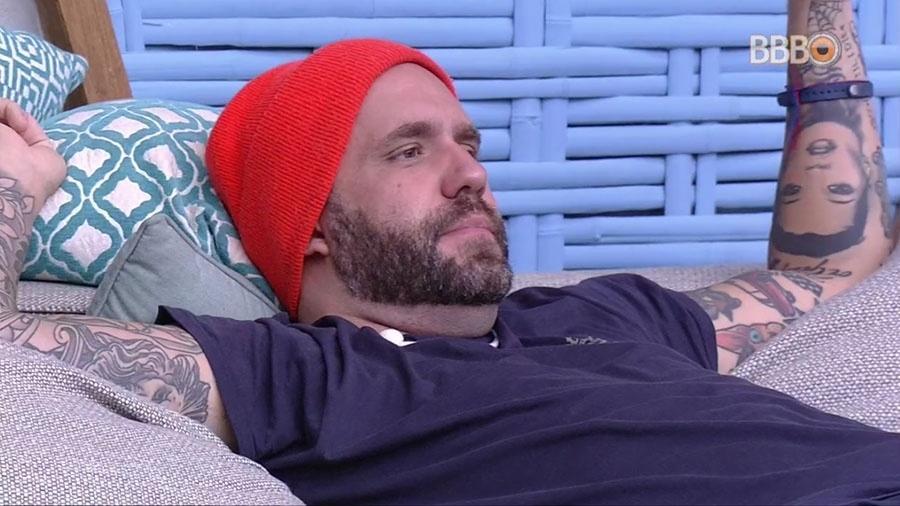 """Caruso fala sobre a própria participação no """"BBB18"""" - Reprodução/GloboPlay"""