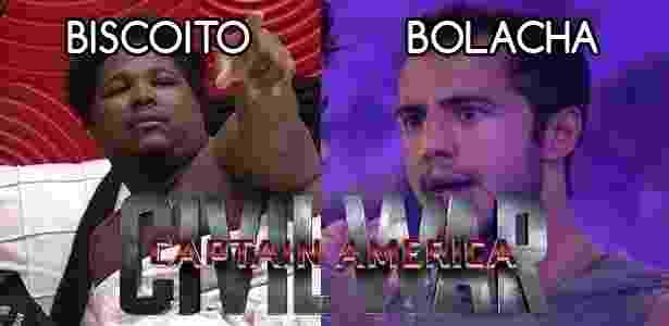 Diva - ronan x matheus - Reprodução/TV Globo e Montagem/Diva Depressão - Reprodução/TV Globo e Montagem/Diva Depressão