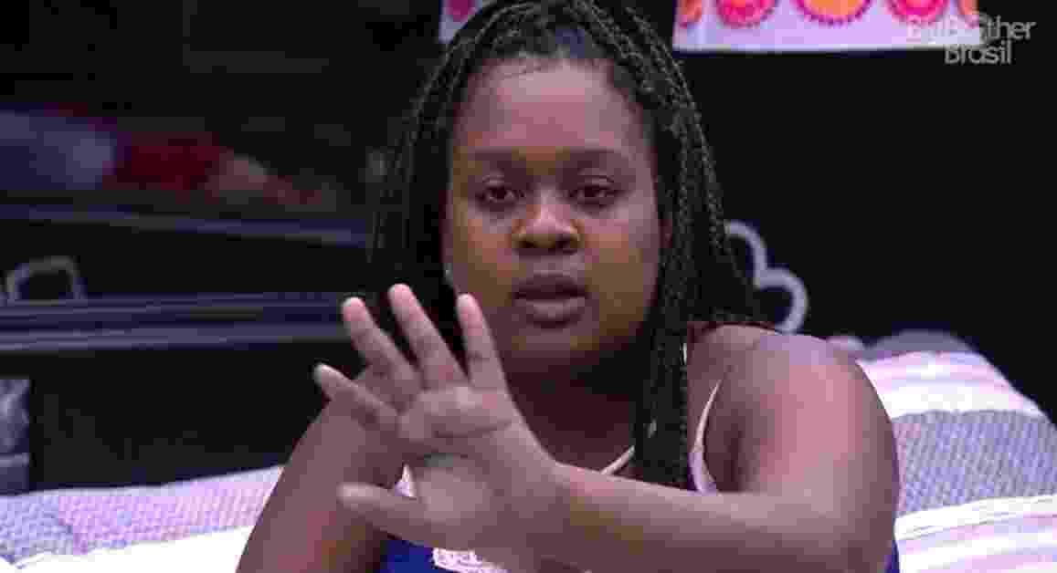 """""""Estou em um ranço tão grande"""", diz Roberta sobre Emilly - Reprodução/TV Globo"""