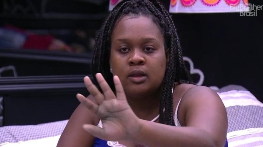 Roberta desiste de Emilly e vai votar em Marcos  - Reprodução/TV Globo
