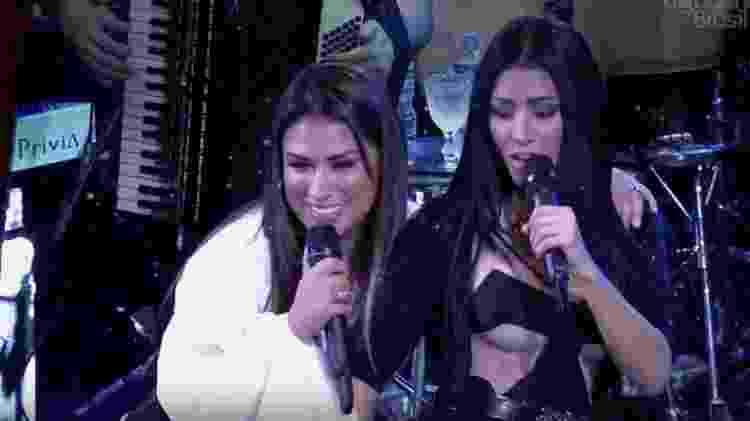 Simone e Simaria serão uma das atrações do Show da Virada - Reprodução/TV Globo - Reprodução/TV Globo