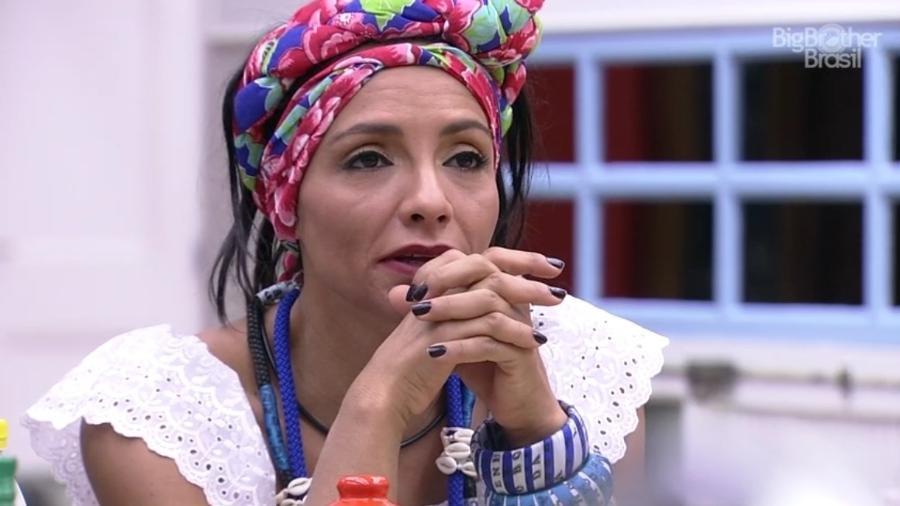 Marinalva diz que ficou preocupada com Vivian, após a Festa Bahia - Reprodução/ TV Globo