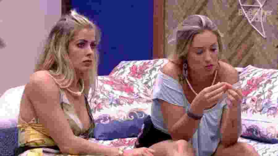 Jéssica e Jaqueline criticam Ana Clara após formação de paredão - Reprodução/GloboPlay