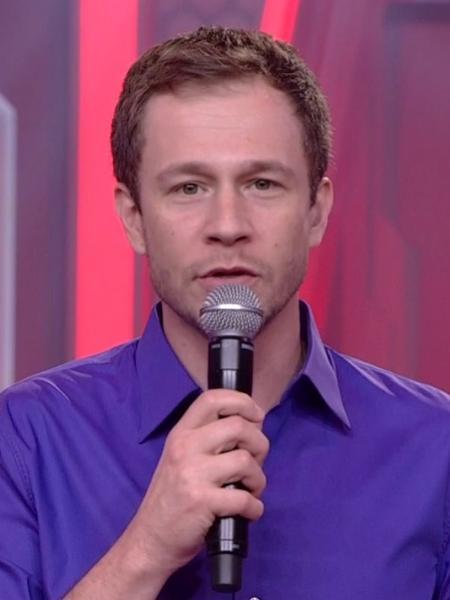 """Tiago Leifert, apresentador do """"Big Brother Brasil""""  - Reprodução/TvGlobo"""